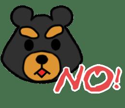 Bowknot Duck&Lai bear sticker #1066042