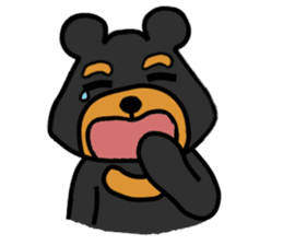 Bowknot Duck&Lai bear sticker #1066044
