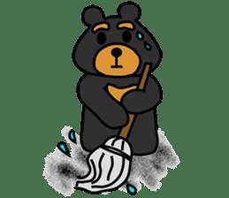 Bowknot Duck&Lai bear sticker #1066045