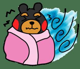 Bowknot Duck&Lai bear sticker #1066052