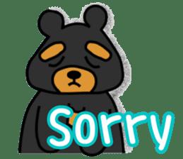 Bowknot Duck&Lai bear sticker #1066053
