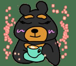 Bowknot Duck&Lai bear sticker #1066054
