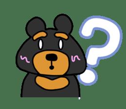 Bowknot Duck&Lai bear sticker #1066055