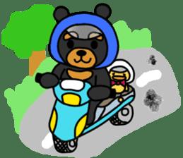 Bowknot Duck&Lai bear sticker #1066058