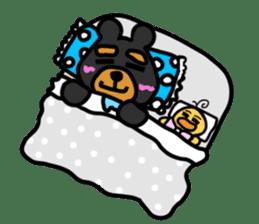 Bowknot Duck&Lai bear sticker #1066063