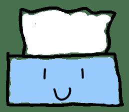 tissue and bath tissue sticker #1066146