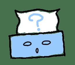 tissue and bath tissue sticker #1066150