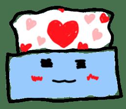 tissue and bath tissue sticker #1066154