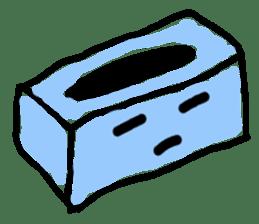 tissue and bath tissue sticker #1066156