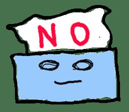 tissue and bath tissue sticker #1066165