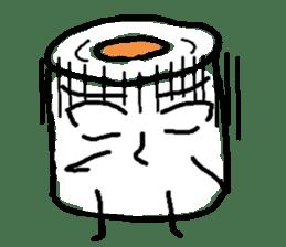 tissue and bath tissue sticker #1066168