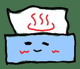 tissue and bath tissue sticker #1066172