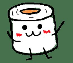 tissue and bath tissue sticker #1066183