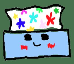 tissue and bath tissue sticker #1066184
