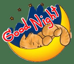Tigza naughty cat sticker sticker #1067229