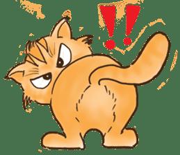 Tigza naughty cat sticker sticker #1067231