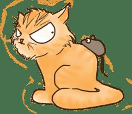 Tigza naughty cat sticker sticker #1067232