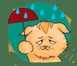 Tigza naughty cat sticker sticker #1067239