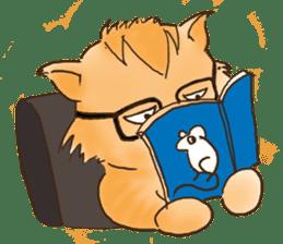 Tigza naughty cat sticker sticker #1067242