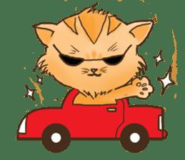 Tigza naughty cat sticker sticker #1067247