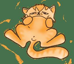 Tigza naughty cat sticker sticker #1067251