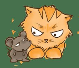 Tigza naughty cat sticker sticker #1067253