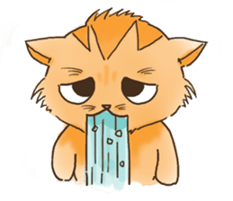 Tigza naughty cat sticker sticker #1067255