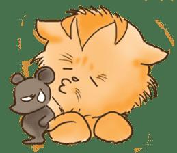 Tigza naughty cat sticker sticker #1067259
