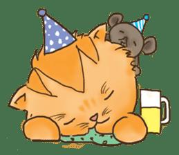 Tigza naughty cat sticker sticker #1067260