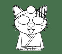 neko samurai (English Ver.) sticker #1067554