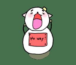 TARE-NEKO Family(YUKI-DARUMA) sticker #1067947