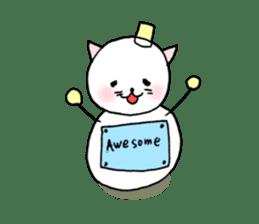 TARE-NEKO Family(YUKI-DARUMA) sticker #1067949