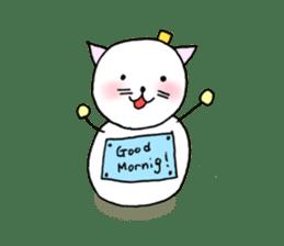TARE-NEKO Family(YUKI-DARUMA) sticker #1067954