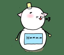TARE-NEKO Family(YUKI-DARUMA) sticker #1067963