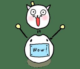TARE-NEKO Family(YUKI-DARUMA) sticker #1067966