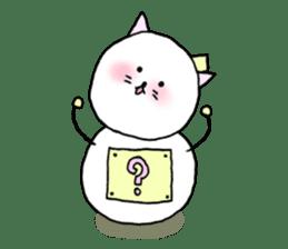 TARE-NEKO Family(YUKI-DARUMA) sticker #1067971