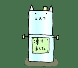 TARE-NEKO Family(YUKI-DARUMA) sticker #1067978