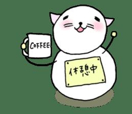 TARE-NEKO Family(YUKI-DARUMA) sticker #1067979