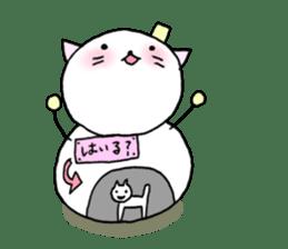 TARE-NEKO Family(YUKI-DARUMA) sticker #1067981