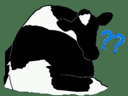 The cows sticker #1074433