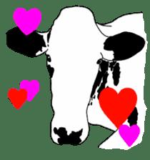The cows sticker #1074436