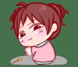 Disgusted sticker of Tekiko sticker #1074475