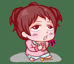 Disgusted sticker of Tekiko sticker #1074481