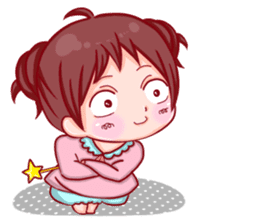 Disgusted sticker of Tekiko sticker #1074492