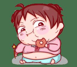Disgusted sticker of Tekiko sticker #1074500