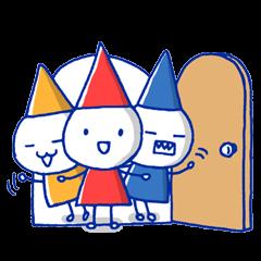 Kobitorio(Trio of little folks)