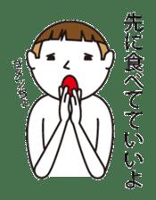 child boy sticker #1077688