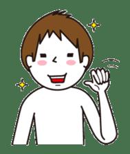 child boy sticker #1077701