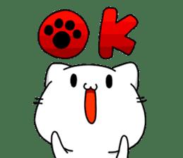 necomaru is a cat everyday sticker #1077706