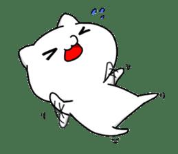 necomaru is a cat everyday sticker #1077727